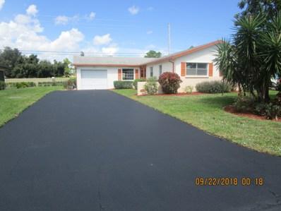 6107 Rainbow Circle, Greenacres, FL 33463 - MLS#: RX-10473229