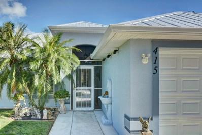 415 SE Cork Road, Port Saint Lucie, FL 34984 - MLS#: RX-10473696