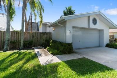 72 Baytree Lane, Boynton Beach, FL 33436 - MLS#: RX-10474357
