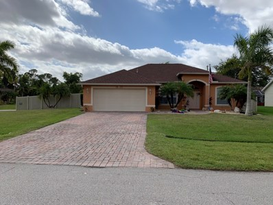 1802 SW Altman Avenue, Port Saint Lucie, FL 34953 - MLS#: RX-10474369