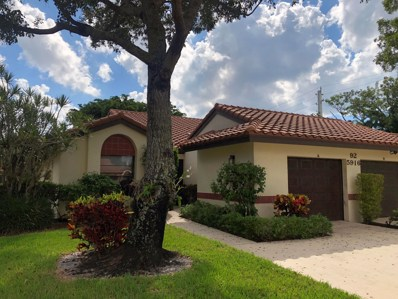 5916 Sunswept Lane UNIT A, Boynton Beach, FL 33437 - MLS#: RX-10474503