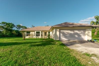 14157 76 Road, Loxahatchee, FL 33470 - MLS#: RX-10474561