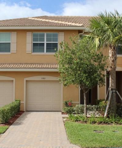 5985 Monterra Club Drive, Lake Worth, FL 33463 - MLS#: RX-10474567