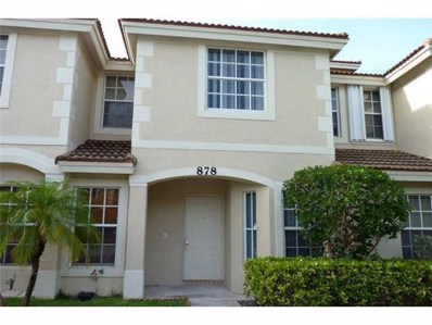 878 Summit Lake Drive, West Palm Beach, FL 33406 - MLS#: RX-10474810
