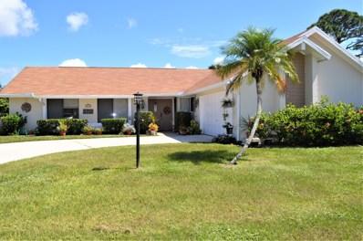 2633 SE Gowin Drive, Port Saint Lucie, FL 34952 - MLS#: RX-10475230