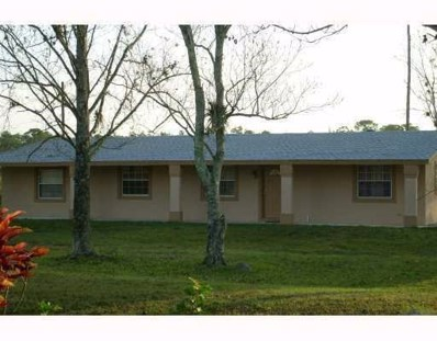 1216 C Road, Loxahatchee, FL 33470 - MLS#: RX-10475381