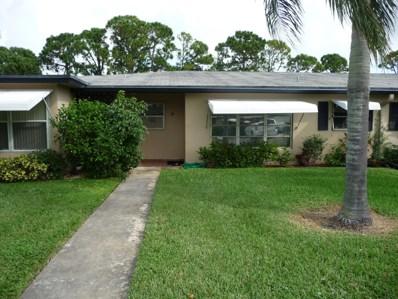 827 North Drive UNIT B, Delray Beach, FL 33445 - MLS#: RX-10475546