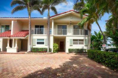 1101 Highland Beach Drive UNIT A, Highland Beach, FL 33487 - MLS#: RX-10475602