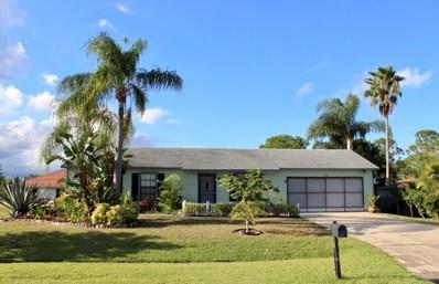 307 SW Grimaldo Terrace, Port Saint Lucie, FL 34984 - MLS#: RX-10475930