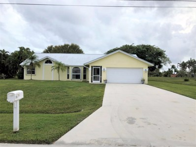 153 SW South Danville Circle, Port Saint Lucie, FL 34953 - MLS#: RX-10476265