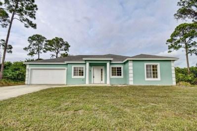 1809 SW Janette Avenue, Port Saint Lucie, FL 34953 - MLS#: RX-10476282