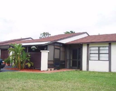 24 Horicon Court UNIT 24, Royal Palm Beach, FL 33411 - MLS#: RX-10476288