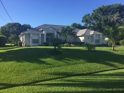 2358 SE Delano Road, Port Saint Lucie, FL 34952 - MLS#: RX-10476797