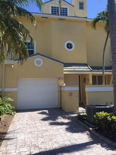48 N Lakeshore Drive UNIT 48, Hypoluxo, FL 33462 - MLS#: RX-10477016