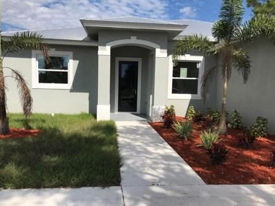 2221 SW Savage Boulevard, Port Saint Lucie, FL 34953 - MLS#: RX-10477323