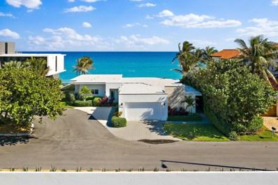 3498 S Ocean Boulevard, South Palm Beach, FL 33480 - MLS#: RX-10477351