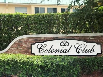 19 Colonial Club Drive UNIT 202, Boynton Beach, FL 33435 - MLS#: RX-10477496