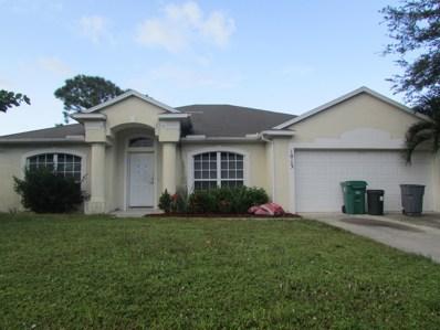 1013 SW Coleman Avenue, Port Saint Lucie, FL 34953 - #: RX-10477807