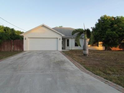 541 SW Lairo Avenue, Port Saint Lucie, FL 34953 - MLS#: RX-10477902