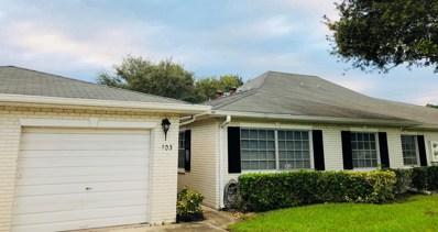 10087 S 42nd Drive UNIT 103, Boynton Beach, FL 33436 - MLS#: RX-10477964