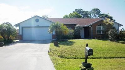 1198 SW Ingrassina Avenue, Port Saint Lucie, FL 34953 - MLS#: RX-10477965