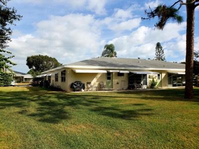 215 Manatee Lane UNIT D, Fort Pierce, FL 34982 - #: RX-10477994