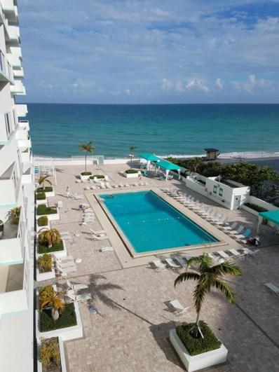 3725 S Ocean Drive UNIT 610, Hollywood, FL 33019 - MLS#: RX-10478079