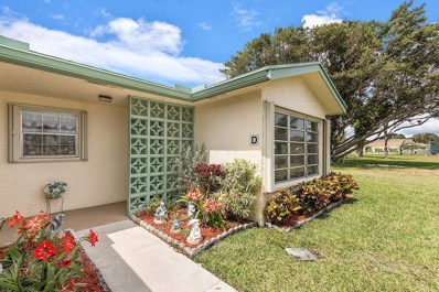14329 Canalview Drive UNIT D, Delray Beach, FL 33484 - MLS#: RX-10478137