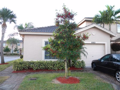 6415 Park Lake Circle, Boynton Beach, FL 33437 - MLS#: RX-10478315