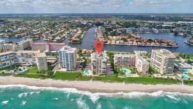 3009 S Ocean Boulevard UNIT 206, Highland Beach, FL 33487 - MLS#: RX-10478350