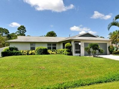 1100 SW Dorchester Street, Port Saint Lucie, FL 34983 - MLS#: RX-10478577