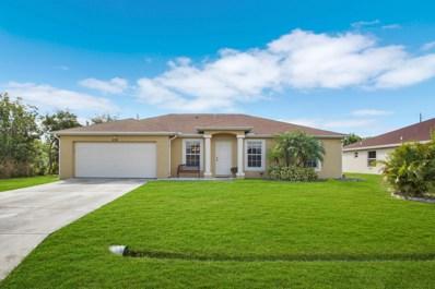 538 SW Lakota Avenue, Port Saint Lucie, FL 34953 - #: RX-10478651