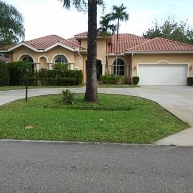 5865 NW Hann Drive, Port Saint Lucie, FL 34986 - MLS#: RX-10478759