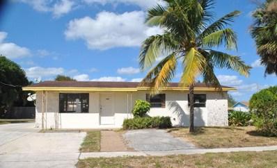700 W 36th Street, Riviera Beach, FL 33404 - MLS#: RX-10478968