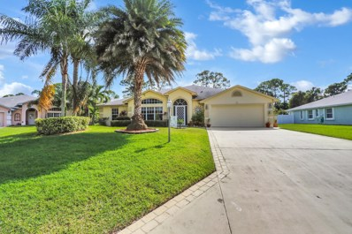 6731 Dickinson Terrace, Port Saint Lucie, FL 34952 - MLS#: RX-10479379