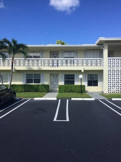1121 Cactus Terrace UNIT 103, Delray Beach, FL 33445 - MLS#: RX-10479496