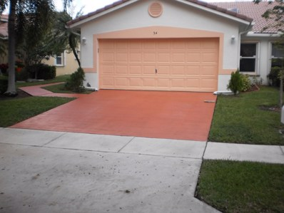 34 Sausalito Drive, Boynton Beach, FL 33436 - #: RX-10479869