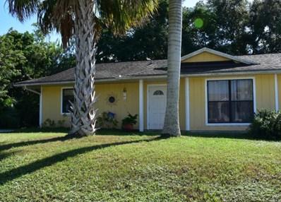 686 SW McHole Avenue, Port Saint Lucie, FL 34953 - MLS#: RX-10480072