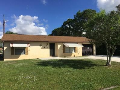 113 SW Carter Avenue, Port Saint Lucie, FL 34983 - MLS#: RX-10480120