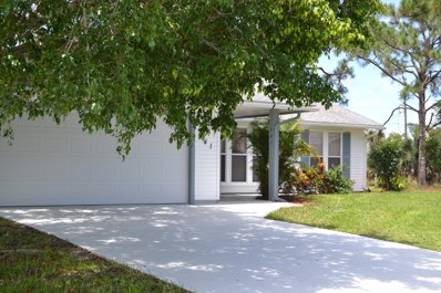 541 SW Violet Avenue, Port Saint Lucie, FL 34983 - MLS#: RX-10480430