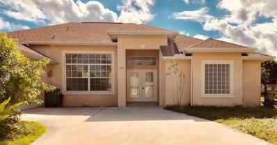 1206 SW Malaga Avenue, Port Saint Lucie, FL 34953 - MLS#: RX-10480757