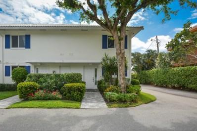 130 Andrews Avenue UNIT 1, Delray Beach, FL 33483 - MLS#: RX-10480862