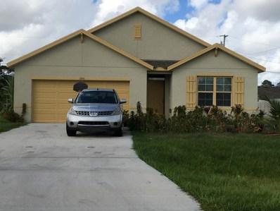 3306 SW Frankford Street, Port Saint Lucie, FL 34953 - MLS#: RX-10480990