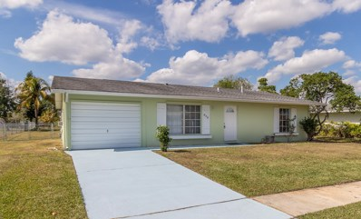 838 SW Goodrich Street, Port Saint Lucie, FL 34953 - MLS#: RX-10481209