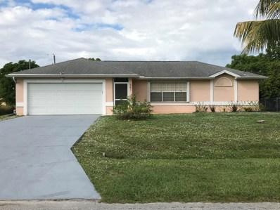 867 SW Amethist Terrace, Port Saint Lucie, FL 34953 - MLS#: RX-10481213
