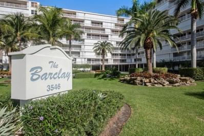 3546 S Ocean Boulevard UNIT 825, South Palm Beach, FL 33480 - MLS#: RX-10481520
