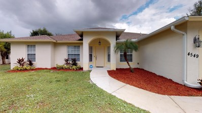 4549 SW Athena Drive, Port Saint Lucie, FL 34953 - MLS#: RX-10481737