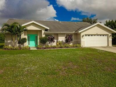 925 SW Jacqueline Avenue, Port Saint Lucie, FL 34953 - MLS#: RX-10482065