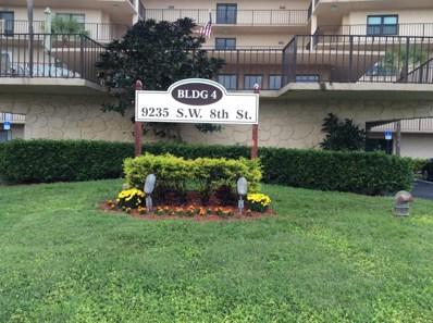 9235 SW 8th Street UNIT 408, Boca Raton, FL 33428 - MLS#: RX-10482995