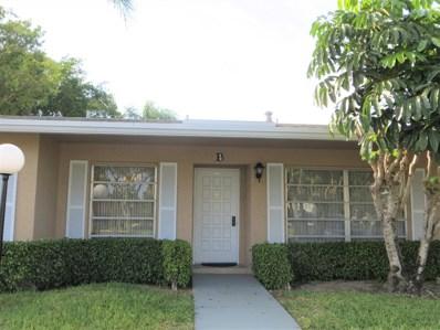 1151 Boxwood Drive UNIT 39-B, Delray Beach, FL 33445 - MLS#: RX-10483679